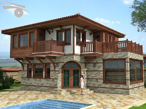 Village Style House Style House Avren Village